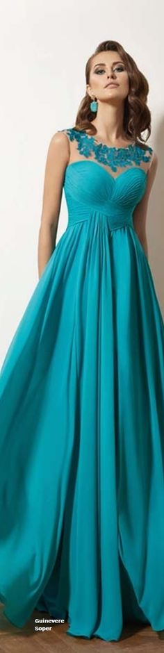 The color of this one is beautiful and would go great with my hair color.  Plus the neckline is nice--love the floral stuff.