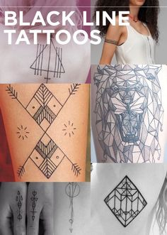 Black line tattoo designs. Great for henna and fake tattoos. Simbols Tattoo, Tatoo Henna, Tatoo Art, Piercing Tattoo, Body Art Tattoos, Piercings, Tatoos, Fake Tattoos, Henna Designs