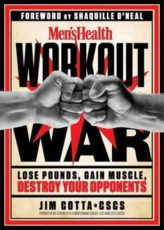 Men's Health Workout War by Jim Cotta (English) Paperback Book