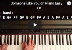 Someone Like You Piano Tutorial