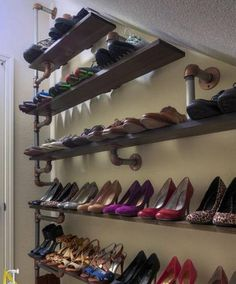 recycling plastic and metal pipes for unique furniture 50 furniture design ideas diy shoe rackshoe