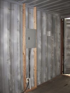 Shipping container cabin shipping containers and insulation on pinterest - How do you insulate a shipping container home ...