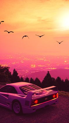 Ps Wallpaper, Scenery Wallpaper, Sports Wallpapers, Car Wallpapers, Best Jdm Cars, Vaporwave Wallpaper, Street Racing Cars, Ferrari F40, Lamborghini Gallardo