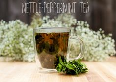 nettle-peppermint tea for allergy relief:  -1 t of dried peppermint OR ¼ c chopped fresh peppermint; -1 t of dried nettle leaf OR ¼ c chopped fresh nettle leaf -Honey and lemon to taste (optional);  -8 oz of fresh water; Place nettle and peppermint in mug & cover with boiling water. Steep for 10-15 min. strain; add honey to taste and/or lemon. drink 2 x daily