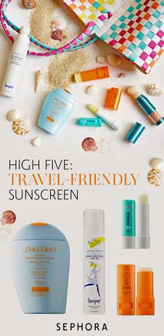 Travel safely with sunscreen for any occasion. From lotions with SPF to lip balms with moisturizer, shop Sephora's sun essentials today.
