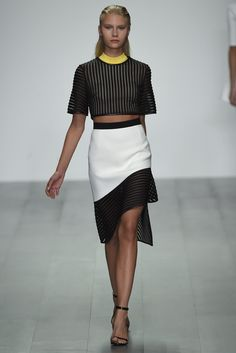 David Koma RTW Spring 2015 [Photo by Giovanni Giannoni]