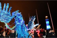 GALLERY: Plymouth gets illuminated with Mayflower 2020 countdown | Plymouth Herald