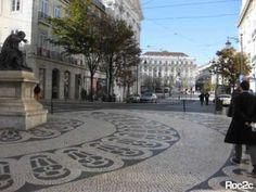 Portuguese Pavement - Lisbon's Unique Street Tiles | The Barefoot Nomad