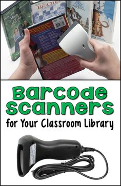 Personal barcode scanners for your classroom library and tips for developing a classroom book checkout system