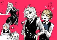Tokyo Ghoul Manga, Death Note, Akira, Pineapple, Owl, Joker, Fictional Characters, Black