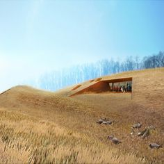 Patkau Architects of Vancouver have won a competition to design six houses in the nature reserve surrounding Frank Lloyd Wright's Fallingwater house in Pennsylvania. The six houses will be submerged in the landscape of Bear Run Nature Reserve and provide accommodation for visitors involved in the Fallingwater Institute's educational programs. Here's some more information from