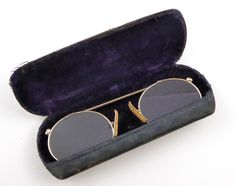 Antique 1800 s Antique Gold Plated Glasses Spectacles Pince Nez - The  Collectors Bag Antique Gold, ab16548ab8a1