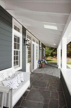 Porch. Beautiful Coastal Porch Ideas. #Porch
