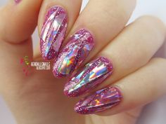 World Of Colors: Folia laserowa z Lady Queen http://www.ladyqueen.com/1pc-bright-natural-nail-shell-paper-hard-version-colorful-shell-nail-jewelry-mirror-symphony-shell-nail-art-sticker-decal-36color-options-na0847.html