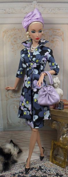Harlow for Silkstone Barbie and Victoire Roux by MatisseFashions, $130.00
