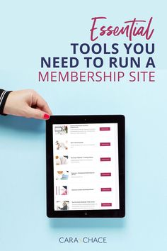 Cara Chase has done the hard work researching each of these 7 tools to create a foolproof roadmap to follow to create your membership site. Read the lessons Cara learned since launching in December 2018 and how to keep your membership site working well for both you and your members.