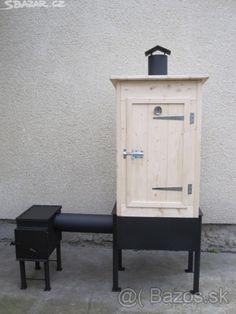 Udírna zahradní dřevěná-gril - 1