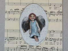 Engelchen Kunstdruck Schutzengel