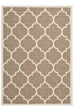 Home Decorators Alcove Area Rug Indoor/outdoor, $165 for 8 x 11', also comes in turqoise, navy