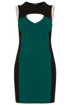 Sports Trim Bodycon Dress | Topshop| Pretty Little Liars