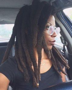 Natural Hair Twists, Pelo Natural, Natural Hair Updo, Natural Hair Styles, African Natural Hairstyles, Black Hairstyles, Dreads Girl, Hippie Dreads, Freeform Dreads