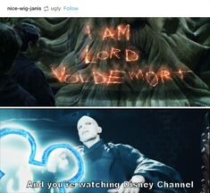 """Harry Potter << This is perfect, and I love the Disney Channel meme with Loki as well, but there also needs to be a Severus Snape one. """"I'm the Half-Blood Prince, and you're watching Disney Channel. Harry Potter Humor, Harry Potter Stuff, Harry Potter Tumblr Funny, Harry Potter List, Harry Potter Friends, Harry Potter Universal, Memes Humor, Funny Memes, Hilarious Jokes"""