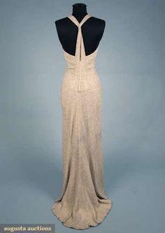 LUCIEN LELONG EVENING GOWN, 1937                   Go Back                       Lot: 290