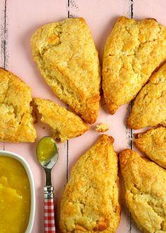 Scones, Muffins and homemade Bread on Pinterest | Scones, Lemon Scones ...