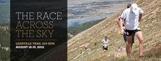Future race. The race across the sky. Leadville 100.