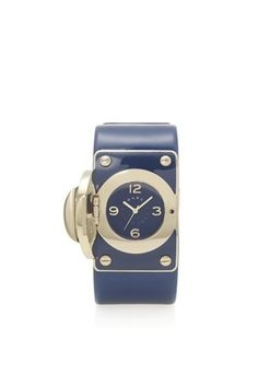 Totally Turnlock Cuff Watch - MBM2032 - Marc By Marc Jacobs - Watches - Marc Jacobs - StyleSays