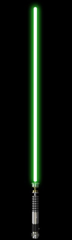 Luke Skywalker Lightsaber by ~NeroWulf