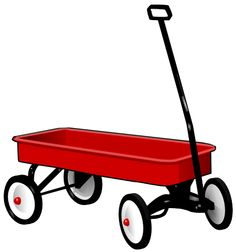 not many more things that are red icons than a red wagon