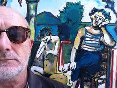 Sogno vesuviano tra Picasso e Cézanne