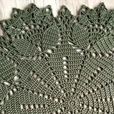 Café da Meia Tarde: Crochê: Tapete Floral