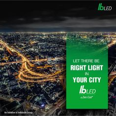 Upgrade your city's flickering street lights to high-performance and reliable lighting with IB LED's lighting solutions @Zero Cost. For more information visit us at http://www.indiabullsled.com/products/list/outdoor-lighting/7