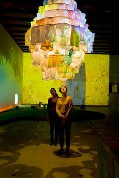 Artists — Pipilotti Rist — Images and clips — Hauser & Wirth Pipilotti Rist, Modern Art, Contemporary Art, Hayward Gallery, Land Art, Art Plastique, Light And Shadow, Public Art, Installation Art