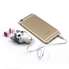 MP3 players for sports Cute Cartoon Retractable Earphone ,In-earphone for Mobile Phone MP3 Player - One of the best MP3 players in the market. It is submersible up to two meters, is available in five colors.