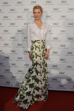 Well Played, Cate Blanchett in Giambattista Valli - Go Fug Yourself: Because Fugly Is The New Pretty