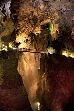 Skojan caves, Slovenia