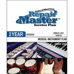 Repair Master 2-Yr Ext Musical Instruments - Under .... $196.70. Under $2000This Plan begins upon expiration of the shortest portion of the manufacturer s original written parts and labor warranty and may be purchased on musical instrumentsCarry-in service