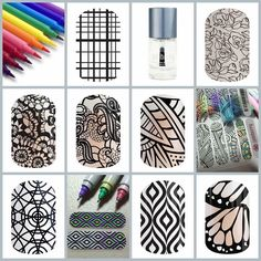Who loves to color? Only with Jamberry can you wear your coloring pallet and color anywhere anytime and have a beautiful one of a kind summer manicure too! Stress relief at your finger tips! heatherhanshew.jamberry.com