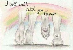 Walk with you forever
