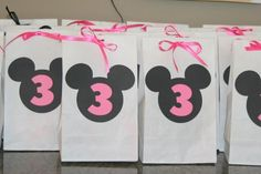 goody bags for minnie mouse party