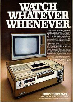 Sony Betamax 1978