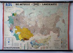 Land- und andere Karten / Wall Maps - Irenaeus Kraus - 20th Century Ephemera