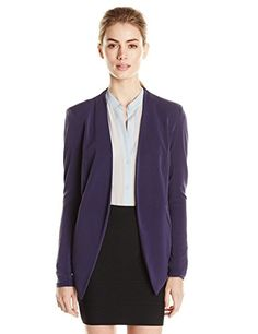 BCBGeneration Women's Tuxedo Blazer, Eclipse Blue, X-Small BCBGeneration http://www.amazon.com/dp/B00OVVEHBM/ref=cm_sw_r_pi_dp_XfOxvb1JBVWKG
