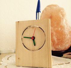 #clock #wood