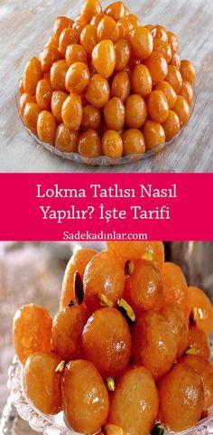 Good Food, Yummy Food, Tasty, Turkish Recipes, Ethnic Recipes, Dumpling Dough, Delicious Desserts, Dessert Recipes, Dough Ingredients