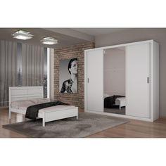 Guarda-Roupa Casal Madrid Luxo Com 03 - Americanas.com