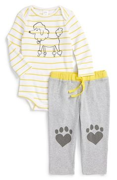 Nordstrom Baby Stripe Bodysuit & Knit Pants (Baby) available at #Nordstrom